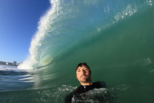 Baptiste Haugomat Water Selfie